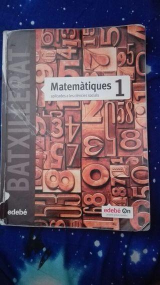 Libro de Matemáticas Aplicadas a las C.S