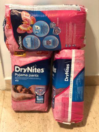 Pañales DryNites 8-15 años