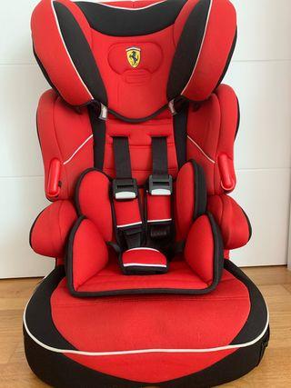 Silla coche Ferrari Rosso grupo 1,2,3