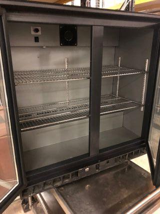 Vitrina expositora refrigeracion 2 puertas