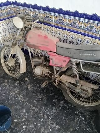 motovespa motor Hispania gt -81