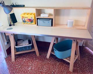 Mesa Ikea estudio encimera