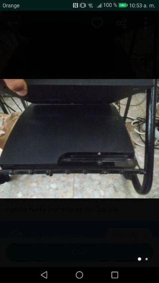 Ps3 y mando con todos los cables