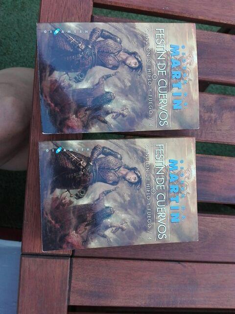 Cuarto libro de Juego de Tronos: Festín de Cuervos de ...