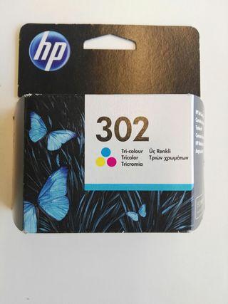 Cartuchos HP 302 Negro y Tricolor