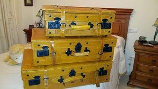 maletas de piel