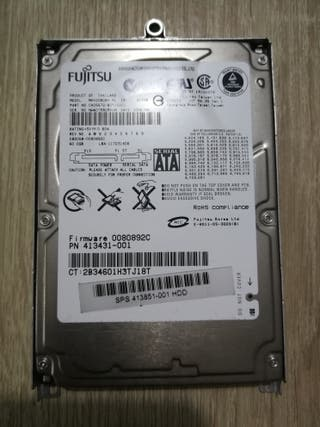 Disco duro Fujitsu sata 2,5 60gb