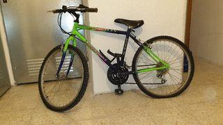 Bicicleta de montaña(mountain bike) junior Longway