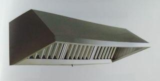 campana industrial acero inox