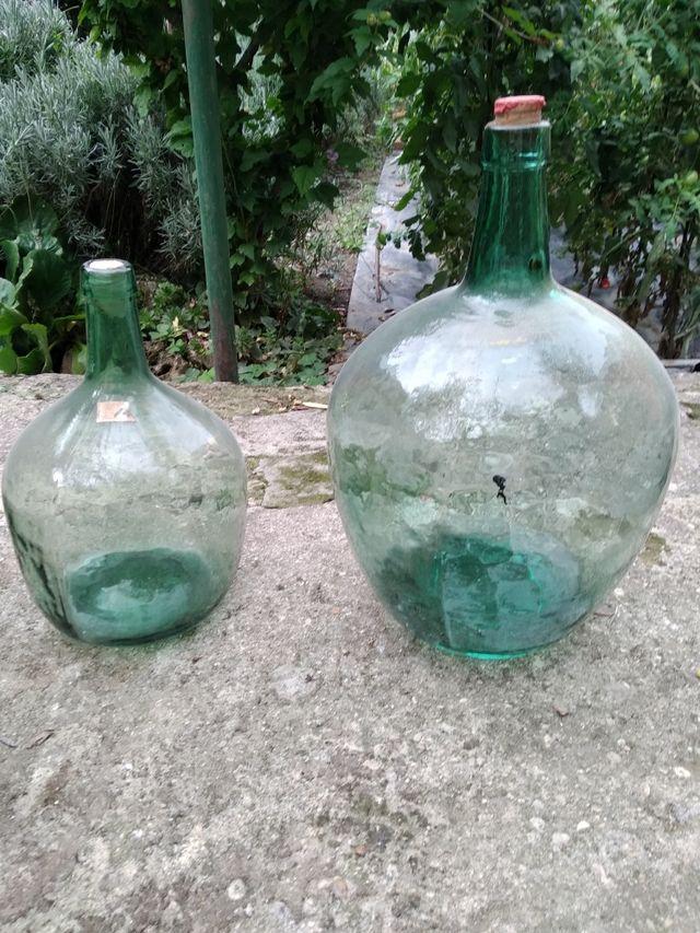 garrafa de cristal