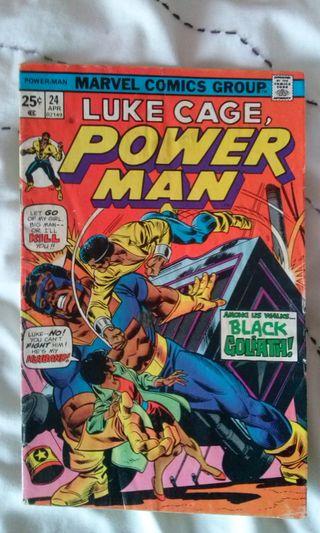 Luke Cage Vol. 1 #24 (1975), 1st Black Goliath