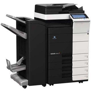 Impresoras, encuardernadoras y cortadora planos