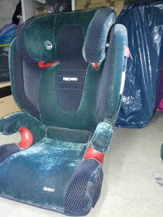 silla coche Isofix grupo 2 3