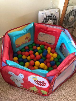 Parque bolas infantil