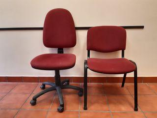 Lote muebles de oficina