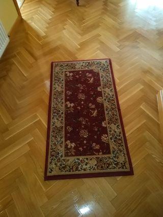 alfombra de pie de cama