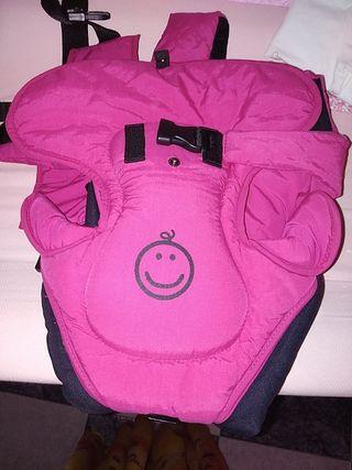 mochila porta bebés jane