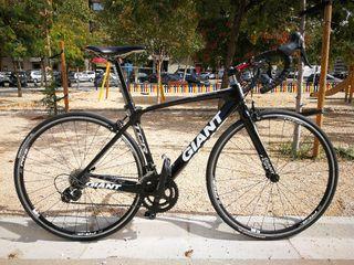 Bici Giant TCR Composite II en perfecto estado