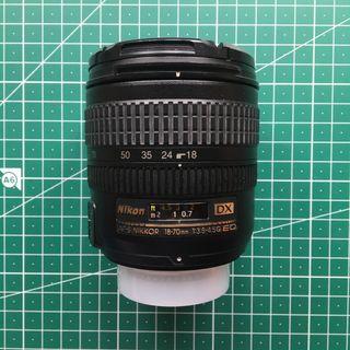 Objetivo Nikon - NIKORR 18-70mm 1:3.5-4.5 G ED