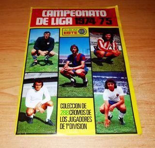 ÁLBUM ESTE 1974 1975 CON LOS 3 IMPOSIBLES