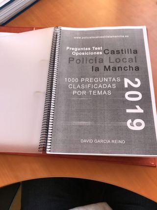 Test para policía local(Castilla la Mancha)