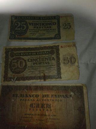 billetes pesetas de la República