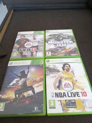 Xbox360+Juegos