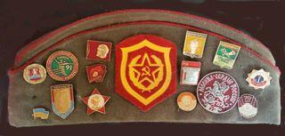 Colección de insignias soviéticas