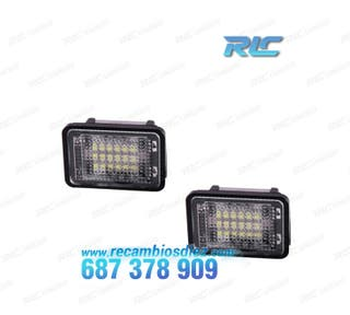 Luces de matrícula LED Mercedes Benz GLK X204 (200