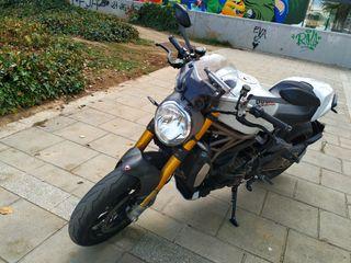 Ducati Monster 1200S Termignoni Carbono más extras