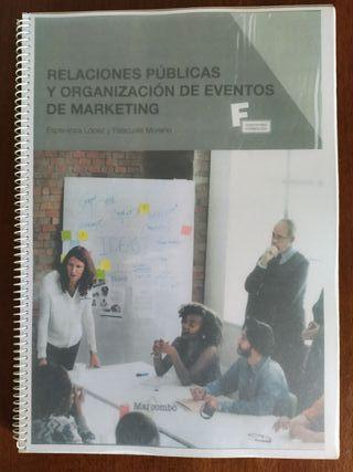 Relaciones públicas y organización de eventos