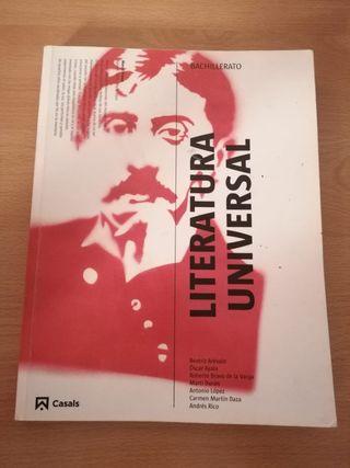 Literatura Universal BACHILLERATO (Casals)
