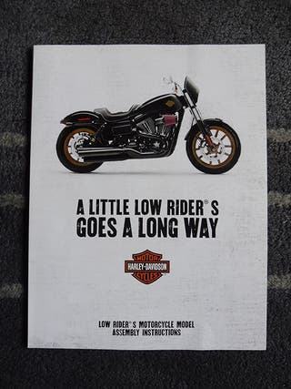 Harley Davidson RECORTABLE Low Rider