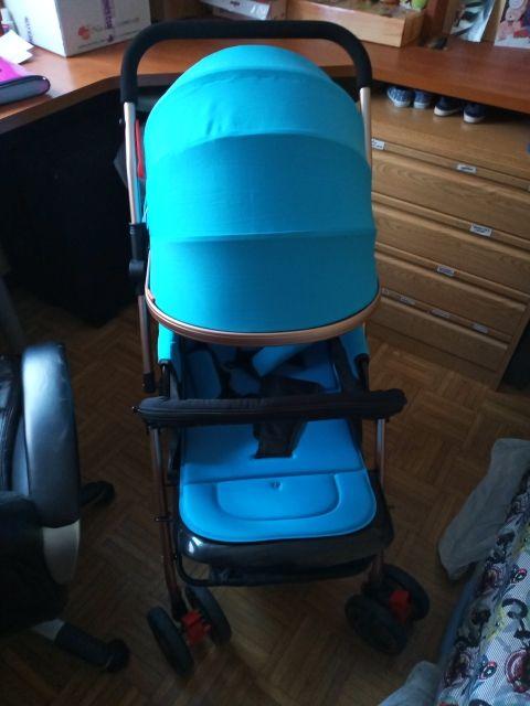 silla de paseo reversible bebe