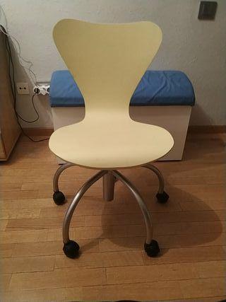 silla escritorio-estudio