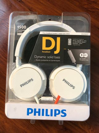 Auriculares cascos DJ Philips