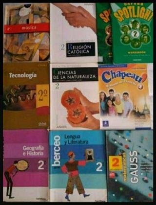 Libros 2 ESO baratos de ayuda