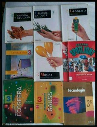 Libros 3 ESO baratos de ayuda