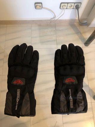 Guantes moto invierno waterproof talla L