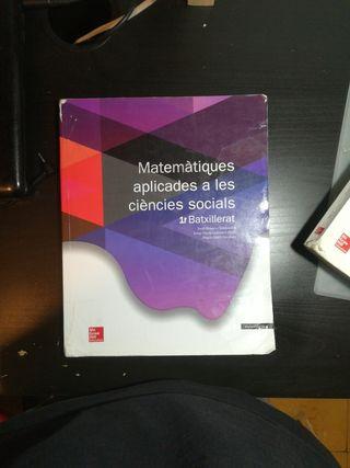 libro de matemáticas 1 batxillerat