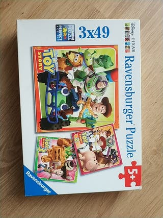 3 Puzzles Toy Story