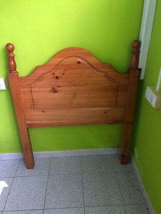Se vende cabecero de madera