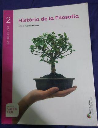 Libro 2n batchillerato historia de filosofía