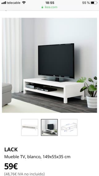 Mesa LACK TV IKEA