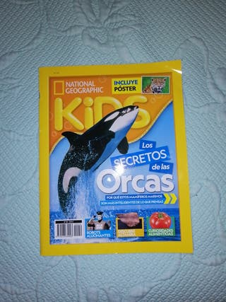 Revista National Geographic Kids 2018