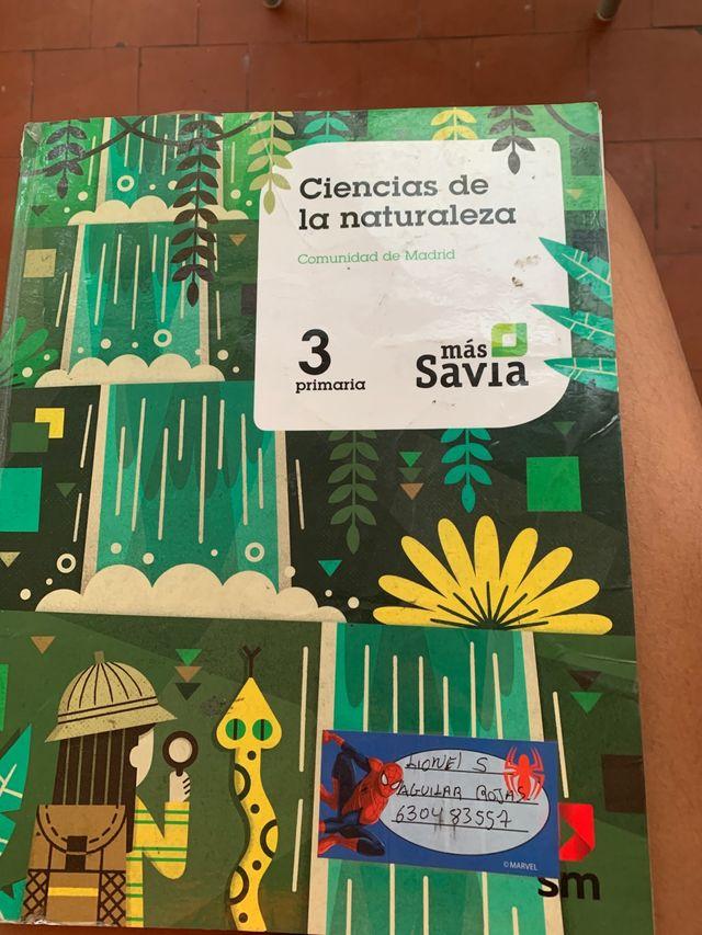 Libro de ciencia de la naturaleza 3 primaria