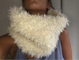 Bufanda pelo Zara
