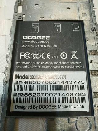 Táctil y LCD teléfono Dooge