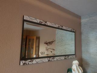 Espejo rectangular salón