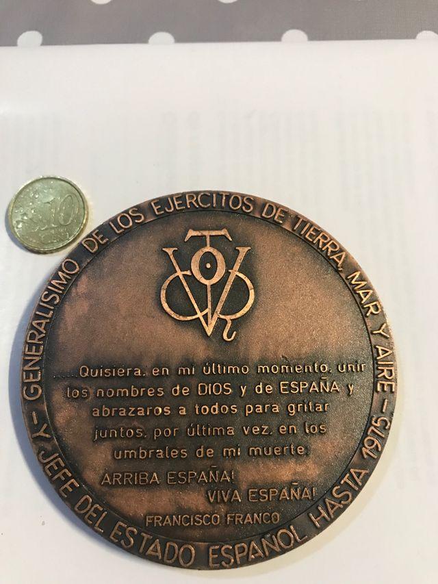 Medalla de franco